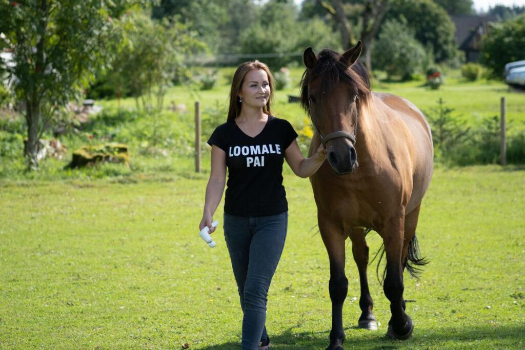 Hobuste massaaž