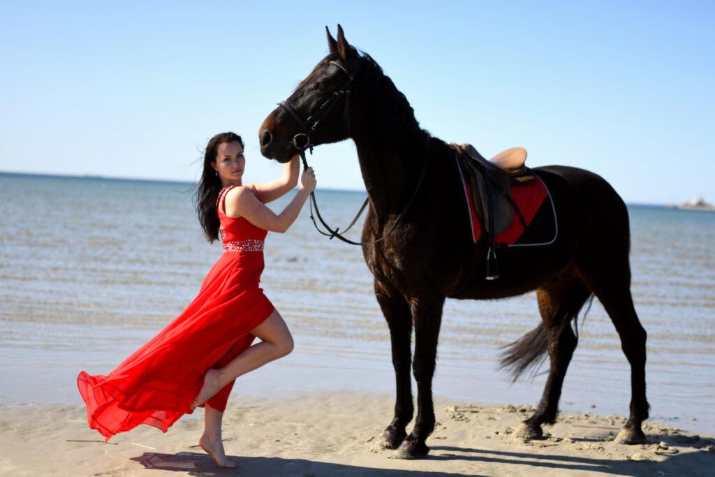 Karolin ja hobune